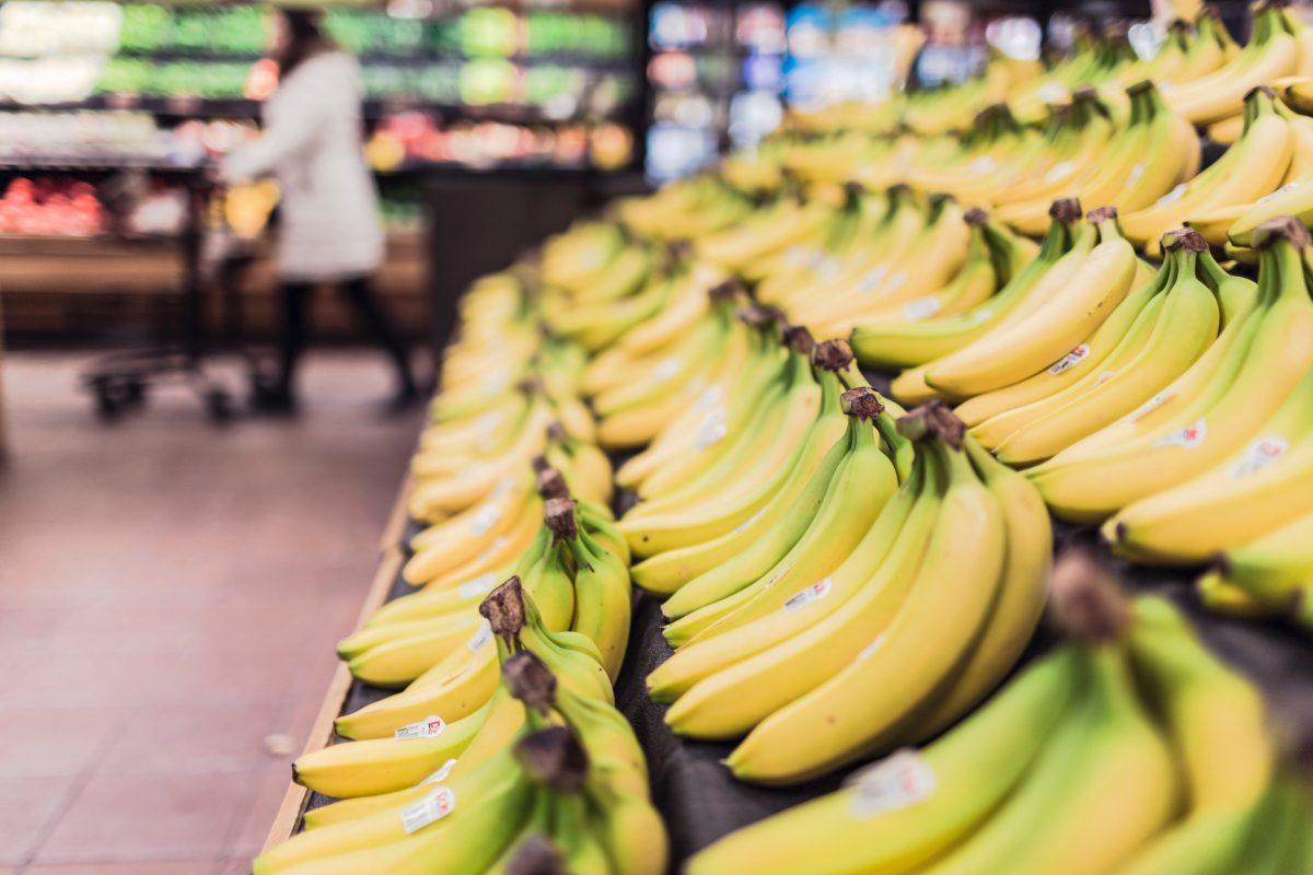 Werken in een supermarkt in 2020